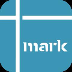 オリジナルマーク作成アプリ「+mark(プラスマーク)」